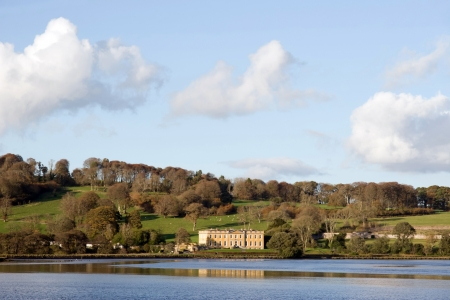 blackwater: ballynatray house county Waterford Ireland set in its estate on the river blackwater