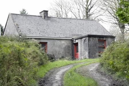 county tipperary: Old cottage in a remote part of county Tipperary Ireland