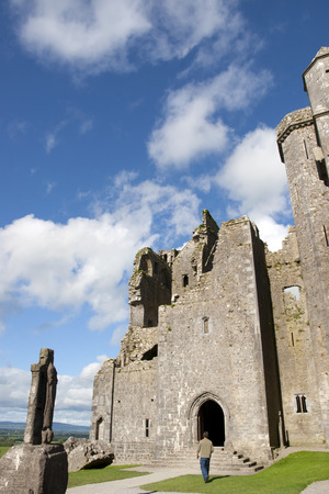 county tipperary: the church at historic rock of Cashel landmark in county Tipperary Ireland