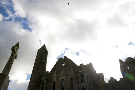 county tipperary: the historic rock of Cashel landmark in county Tipperary Ireland