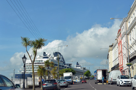 celebrity infinity cruise ship docked at cobh in ireland