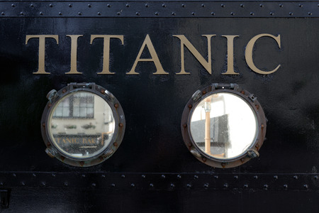 titanic visiting centre in cobh county cork ireland