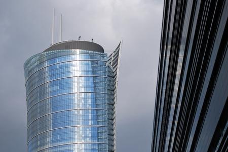 modernity: modern building