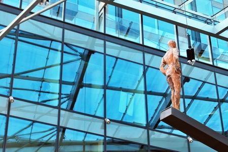 progressive art: modern building