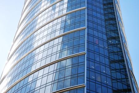 modernity: Modern facade Stock Photo