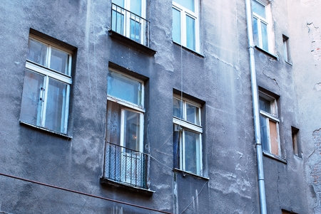 ghetto: Warsaw ghetto building