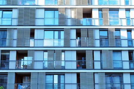 progressive: modern building