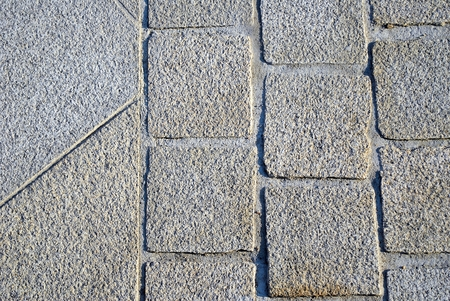 superficial: pavement Stock Photo
