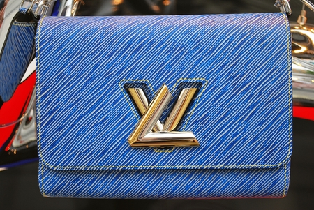 louis vuitton: Warsaw, Poland 26 May 2016 Louis Vuitton store. Handbags for women, combining classic style, timeless design and the highest quality