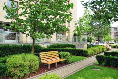 greenery: urban greenery Editorial