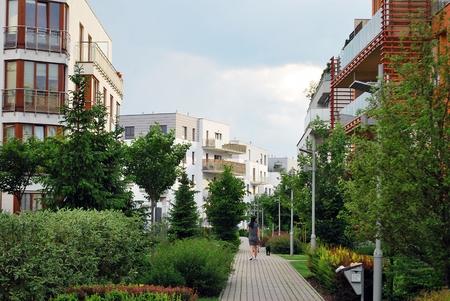 greenery: urban greenery Stock Photo