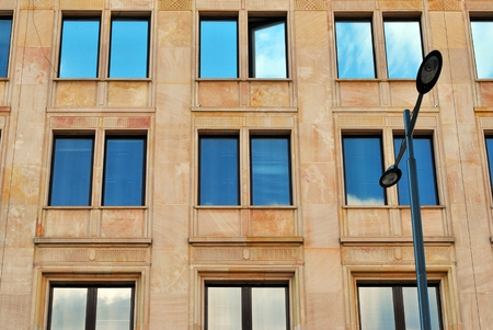historic: historic facade Stock Photo