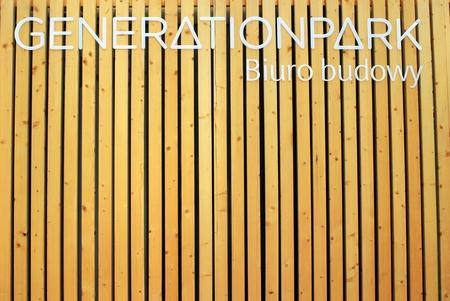 buildingsite: Warsaw, Poland. Juni 2016. Office building Generation Park in Warsaw Editorial