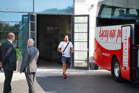 qualifications: Warsaw Poland. Juni 2015. Travel to match the Polish football team. Editorial