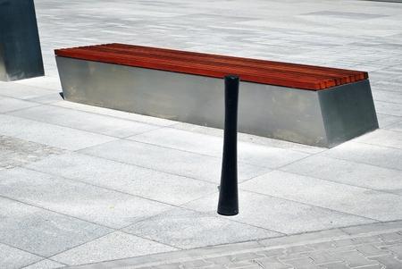 furniture: street furniture Stock Photo