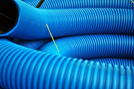 産業用の青い曲線
