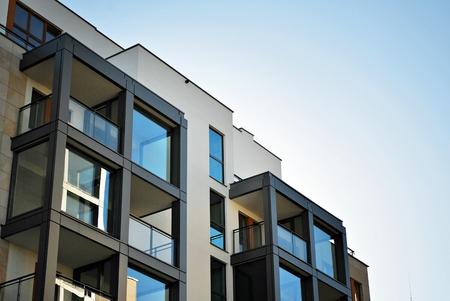 Modern apartment building Banque d'images