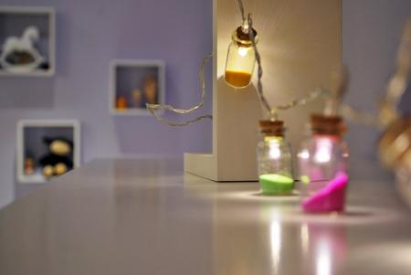 decoration lights: decoration lights blurred