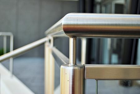 railing: steel railing