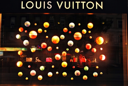 Warsaw, Poland. 15 September 2016. Louis Vuitton store on September 2016.