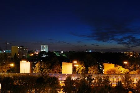 city ??in night