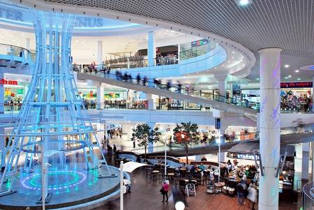Szczecin, Poland. 01 September 2016. Galaxy shoping center.