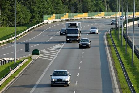 traffic controller: Motorway infrastructure scenery