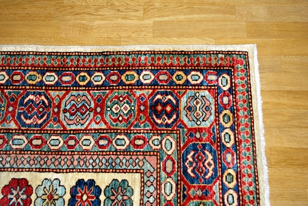 Old Persian carpet.