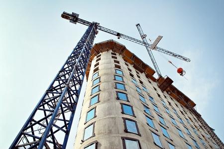 dwelling: Building under construction