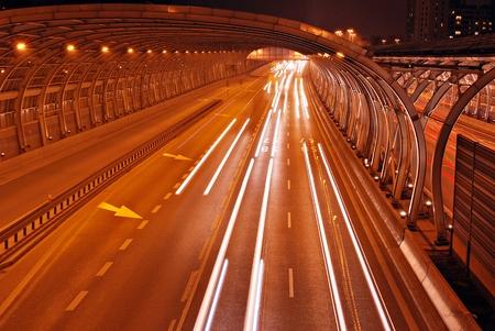 street shot: Highway night shot