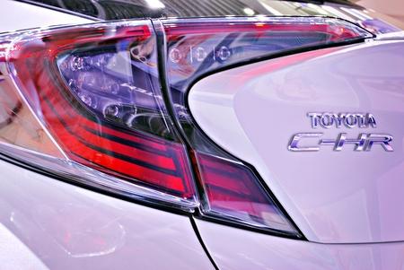 Warsaw, Poland. 8 February 2017. Toyota C-HR. Showroom.