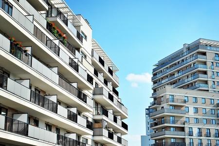 Modern, Luxury Apartment Building.