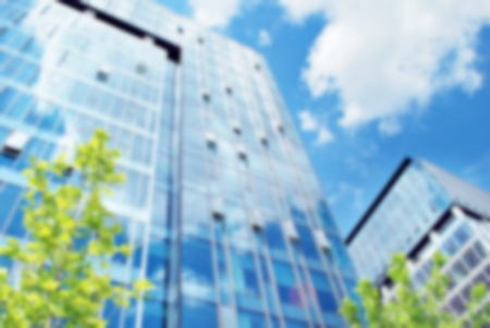 personal perspective: Blur office building with background Stock Photo