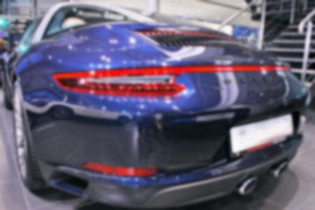 Rozmycie obrazu samochodu w salonie ?? n?n
