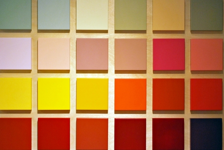 Samples of color