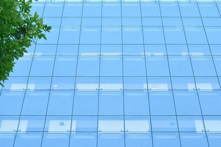 Modern apartment building exterior