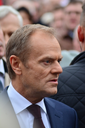 Warsaw, Poland November 11, 2018. Donald Tusk the President of Polands National Independence Day