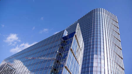 Warsaw, Poland. 13 March 2020. Mennica Legacy Tower - an A + class office investment implemented jointly by Golub GetHouse and Mennica Polska