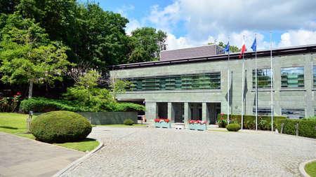 Warsaw, Poland. July 12, 2020. National Security Bureau building.