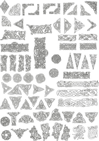 celtic motifs Vector