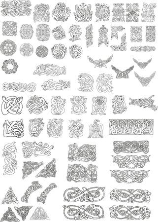 celtic motifs Stock Vector - 5750838