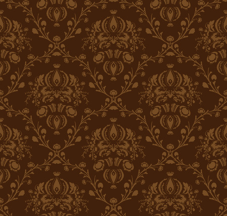 damask pattern motif