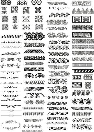 horizontal ornaments Stock Vector - 5750834