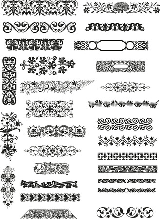 horizontal ornaments