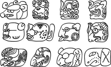Mexican or maya motifs Stock Vector - 9331758