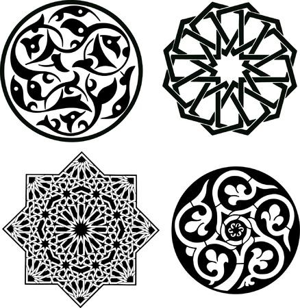 arabesque: Patr�n de ornamento Isl�mica