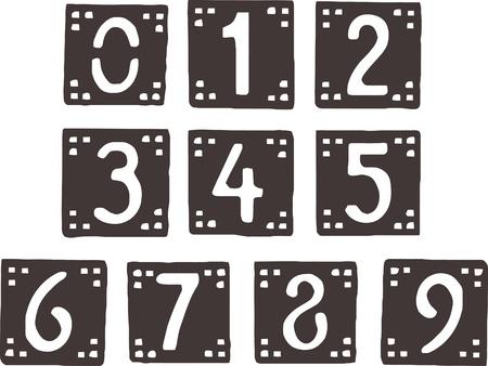 verzameling van stijlvolle getallen