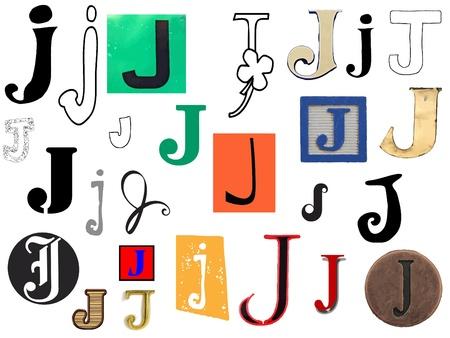 Diffetent stijl brieven