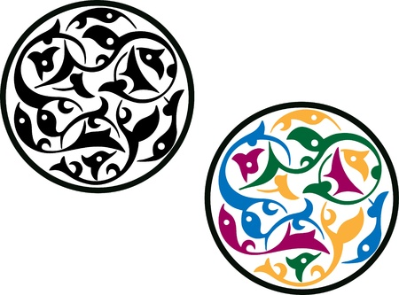 patron islamico: Patr�n isl�mico de la Ronda Vectores