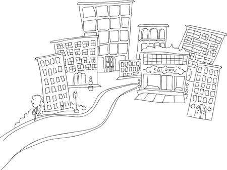 Doodle stad